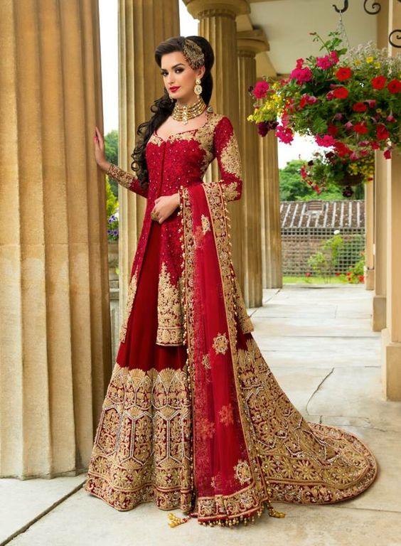 6db98abbfb ... style saree,lehenga saree style,lehenga dupatta,dupatta draping styles ,DIY,how to drape a dupatta,lehenga style saree,how to wear saree to look  slim ...