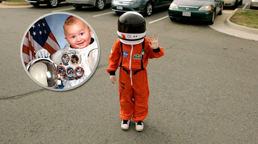 This little boy called Guardian of the Galaxy applied for NASA job