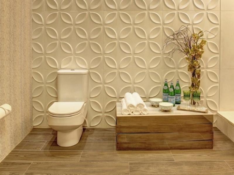 Construindo minha casa clean 25 pain is geom tricos 3d for Decoracion 3d para paredes