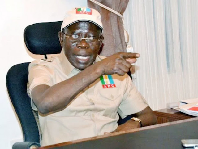 Am Still Saying This, Some INEC Commissioners Have Compromised Oshiomhole