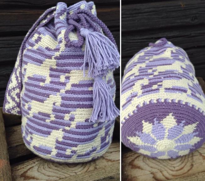 Tapestry Crochet y Mochilas Wayúu. | Crochet desde El Tabo.