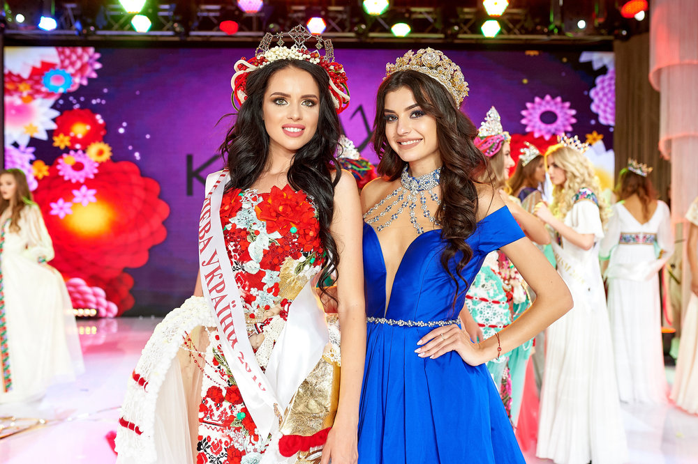 Yana Laurinaichute Crowned Queen of Ukraine 2018