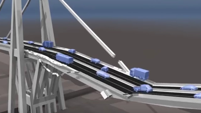 effondrement pont morandini de gene italie-catastrophe