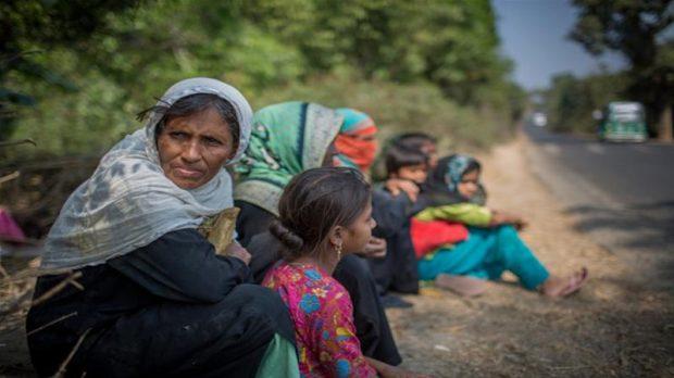 Hendak Mengungsi, Warga Rohingya Ditembaki