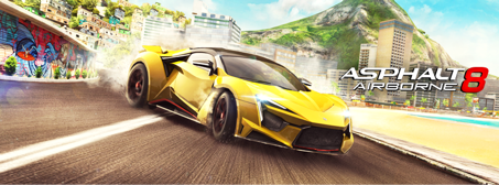 Asphalt celebrates 12 years of fabulous racing with a new update for Asphalt 8, Hit the Road to Rio
