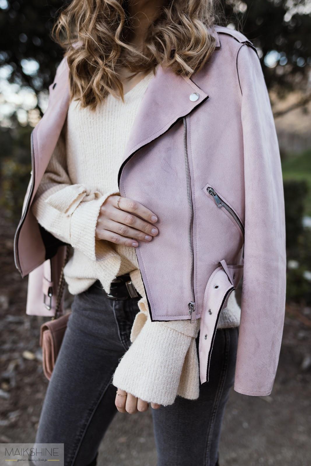 Maikshine outfit biker rosa
