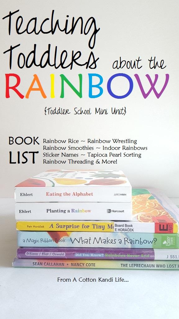Spring Rainbow Lessons A Cotton Kandi Life