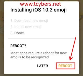 android emoji değiştirme