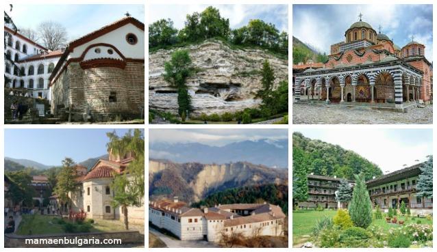 Monasterios Bulgaria