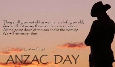 anzac day les we forget
