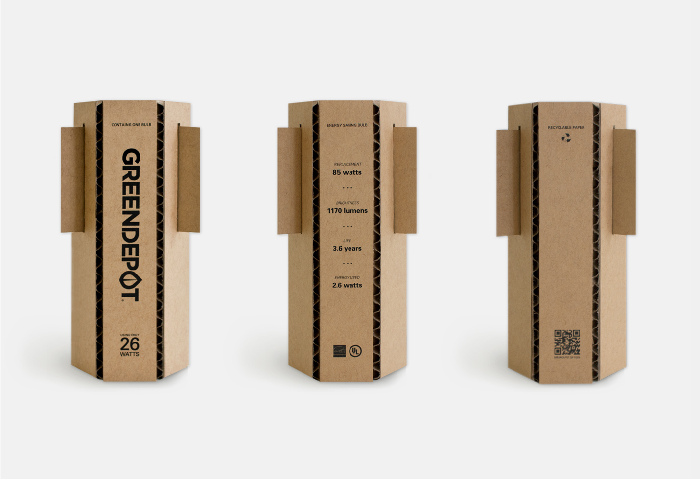 The green package design essay