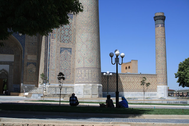 Ouzbékistan, Samarcande, Bibi Khanoum, © L. Gigout, 2010