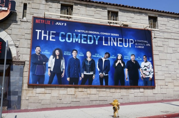 Comedy Line-Up Netflix billboard