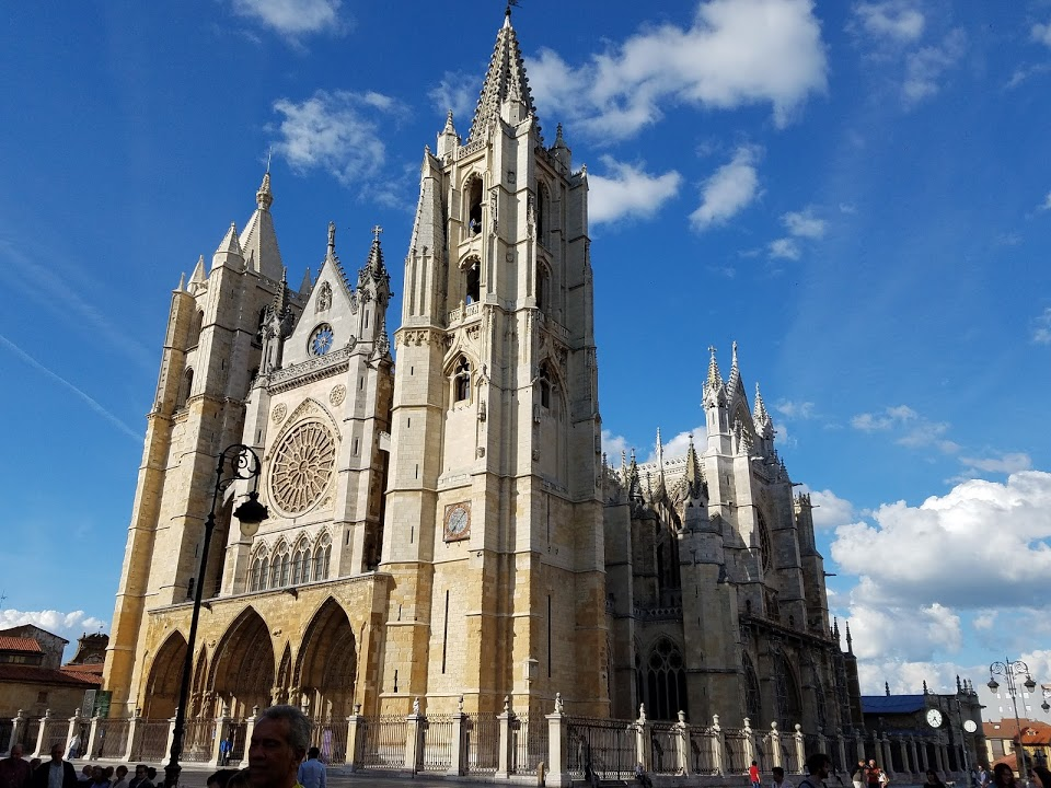 The magnificent León Cathedral. Photo: © Lisa Foradori. Unauthorized use is prohibited.