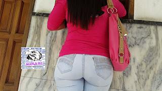 mujeres caderonas jeans entallados
