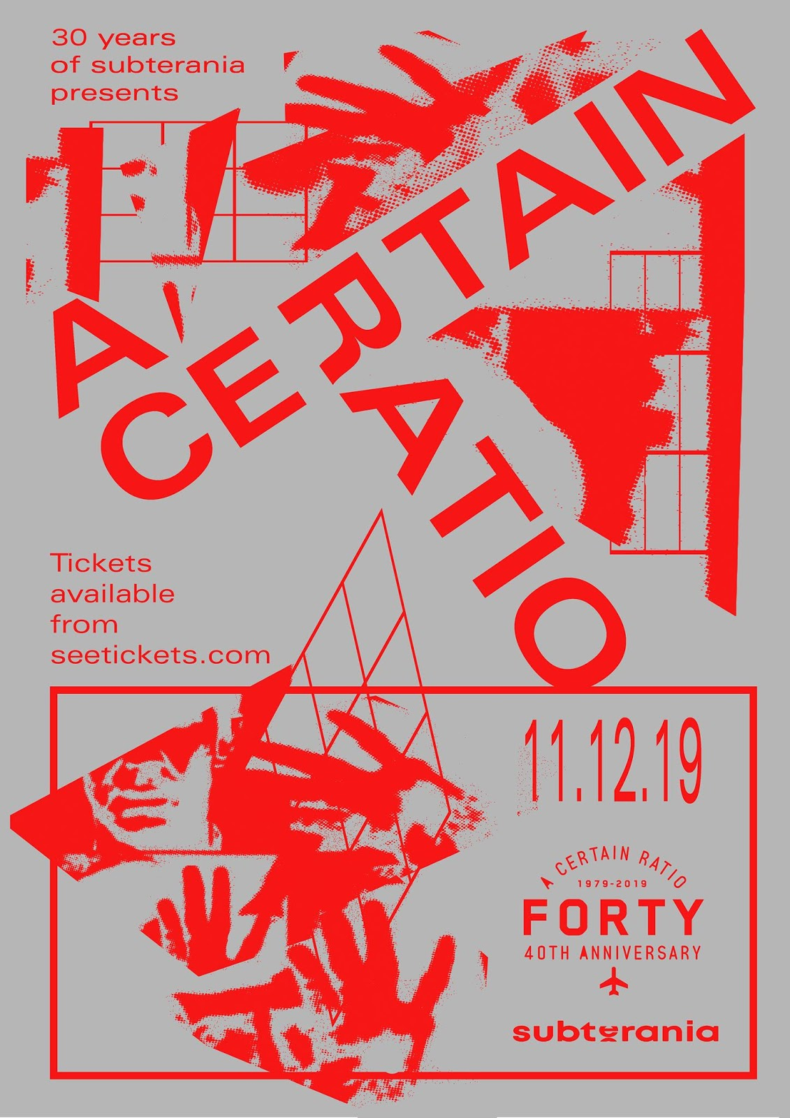 ACR Gigography - 11 December 2019, Subterania, London