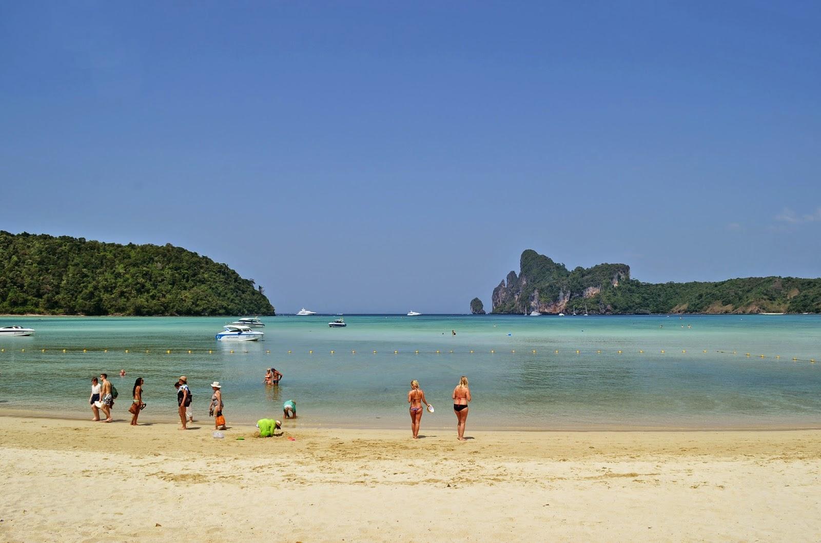 Phi Phi Islands Beaches Loh Dalum Tonsai Bay Long Beach: Trip To Krabi, Thailand: Phi Phi Islands