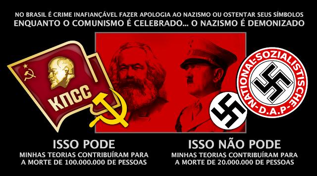 Resultado de imagem para bandeira nazista comunista