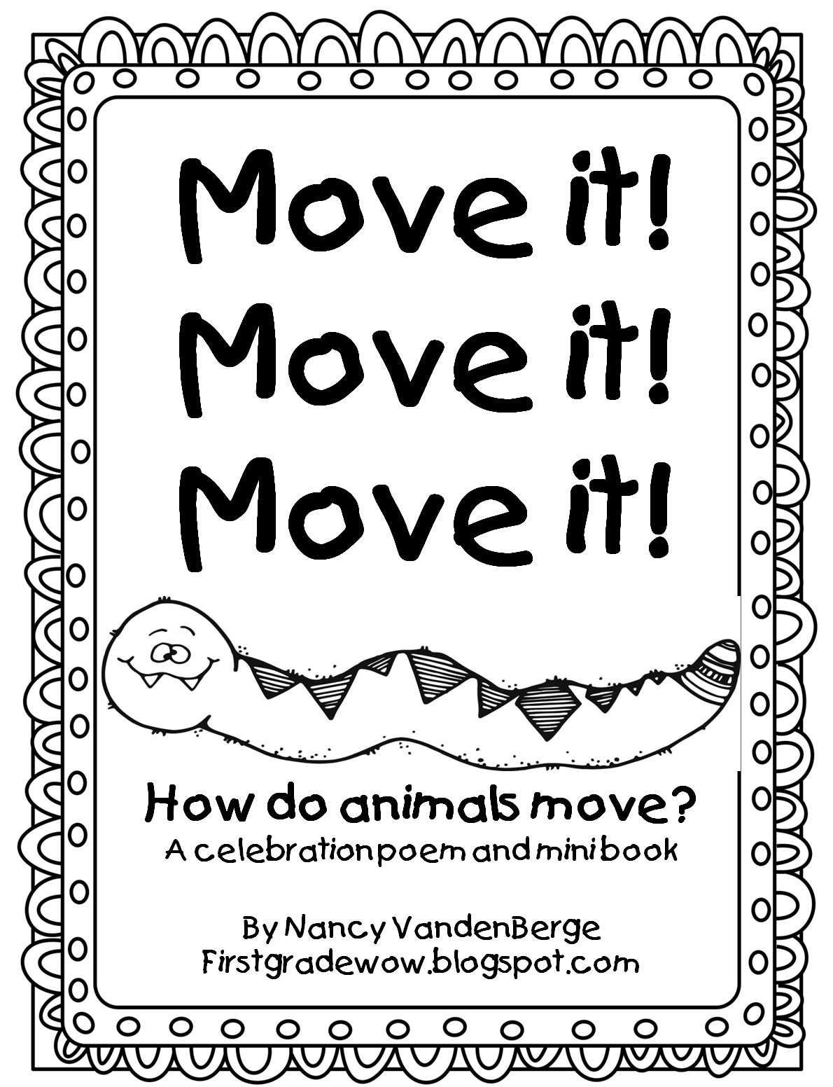 First Grade Wow Move It Move It Move It