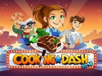 Cooking Dash MOD APK v2.0.27 Unlimited Money Gold Coin Tickets Unlocked Update Terbaru 2017