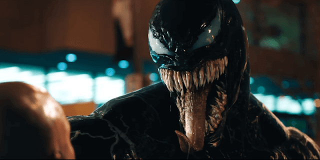Venom interpretado por Tom Hardy