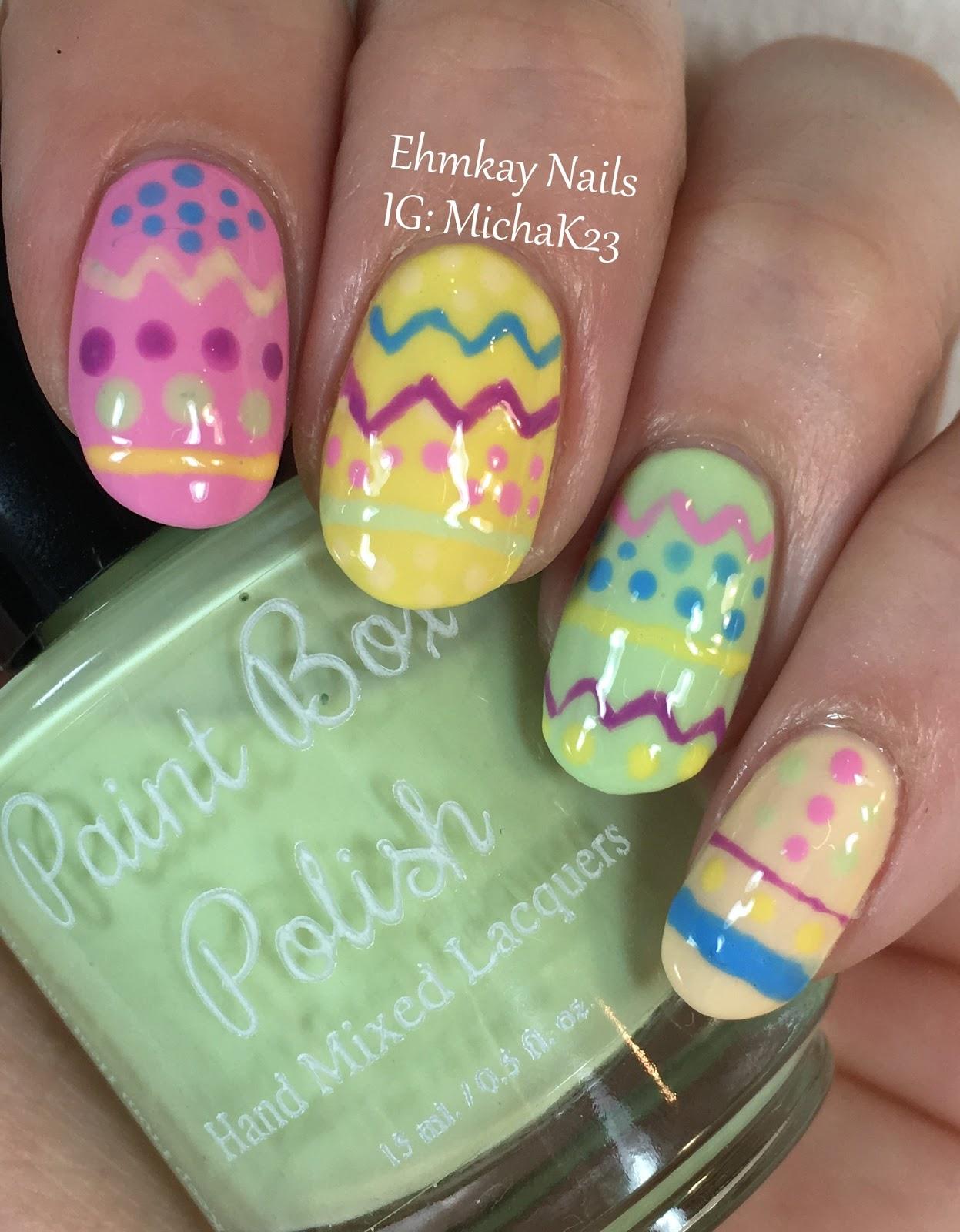 Nail Polish Paint Eggs Splendid Wedding Company
