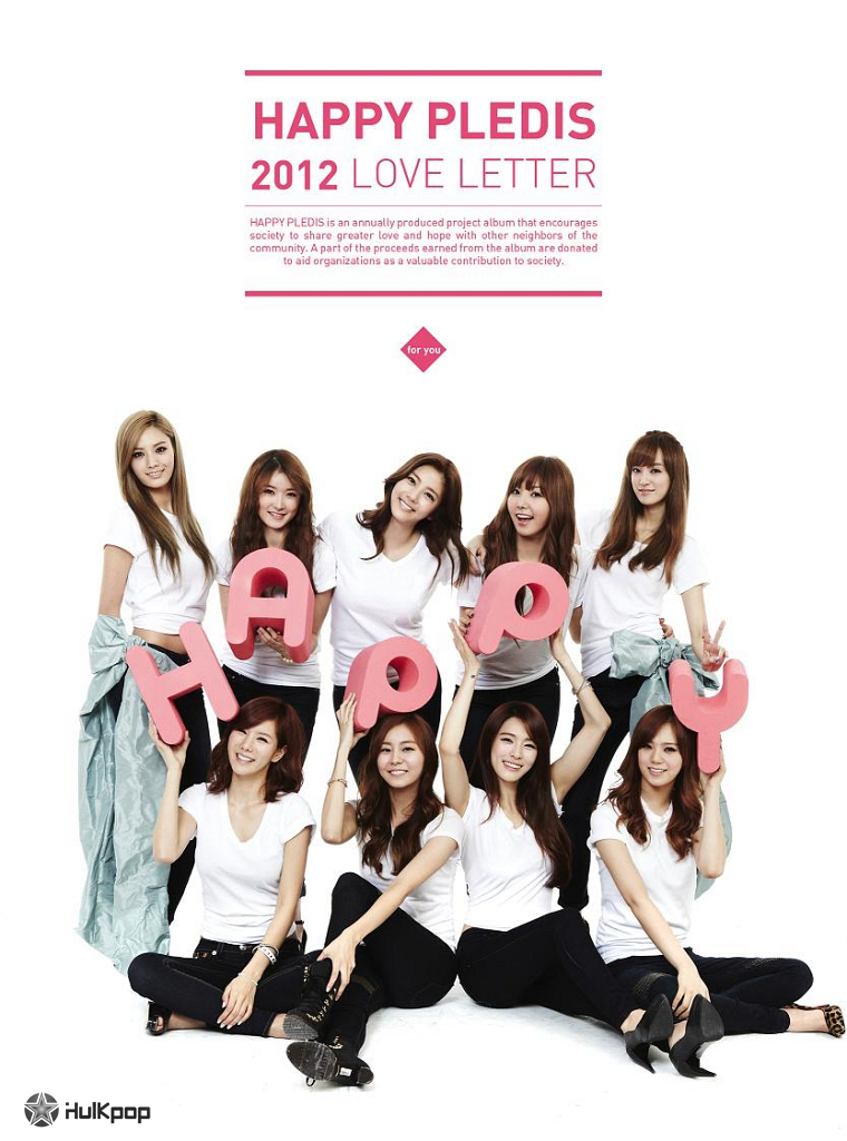 Son Dam Bi, After School – Happy Pledis 2012 `Love Letter` – EP