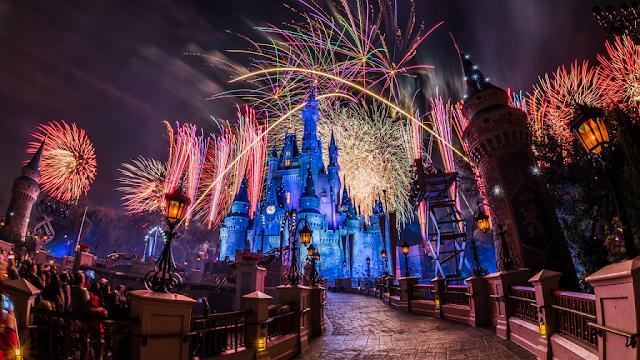 Ano Novo no Magic Kingdom na Disney