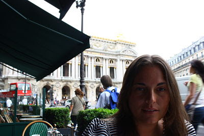 Desayuno en el Café de la Paix (París)