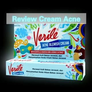 Review Cream Penghilang Jerawat Verile