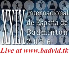 XXIX Spanish International 2016 live streaming