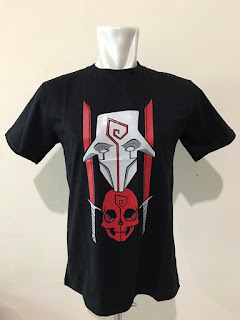 Kaos Baju Tshirt Gaming - Dota 2 Juggernaut