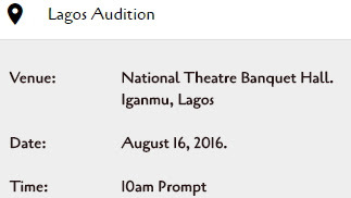 nollywood acting auditions lagos