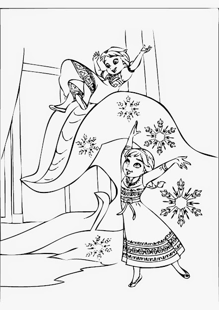 Disney Frozen Coloring Pages To Print Ideas About Frozen