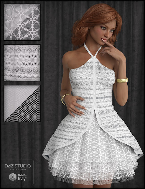 Fabric Basics Lace for Iray
