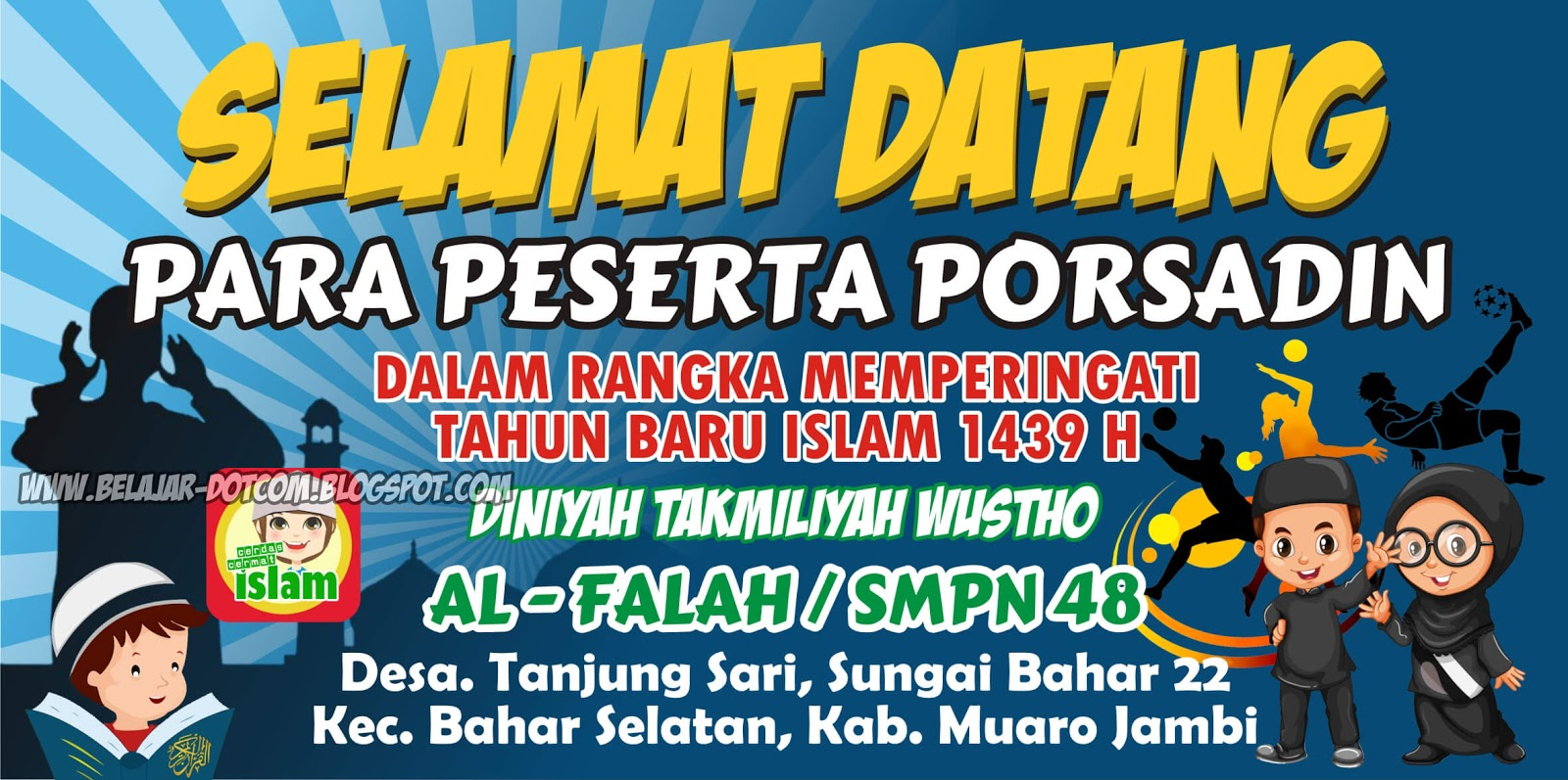 Download Banner Lomba Mewarnai Cdr