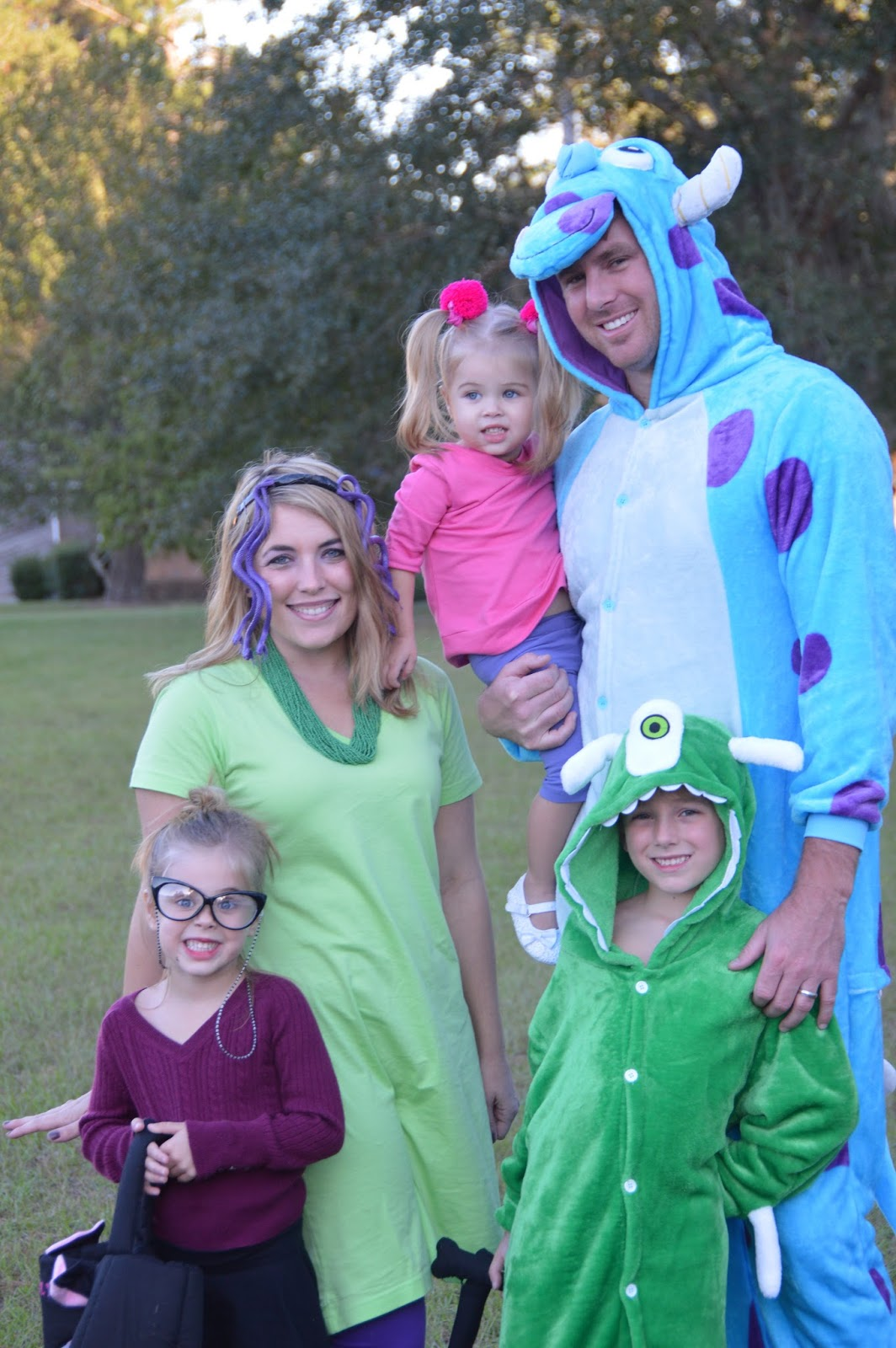 monsters inc halloween costumes