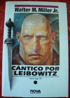 Portada del libro Cántico por Leibowitz, de Walter M. Miller
