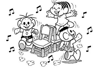 ogo educativo musical Dança das cadeiras diferente