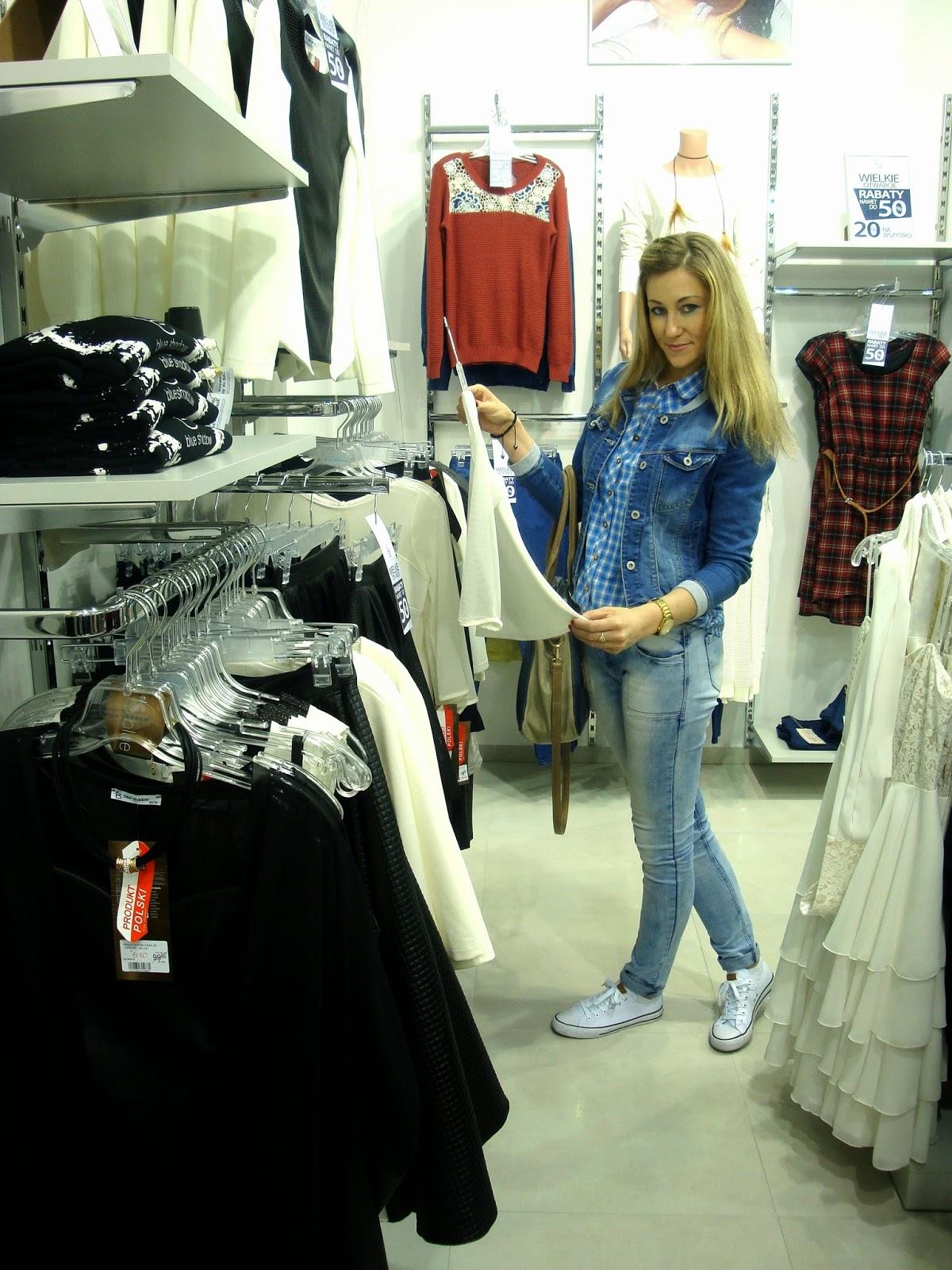 636dc3d340 Agnieszka Kownacka o modzie i urodzie  Otwarcie sklepu Blue Shadow w ...
