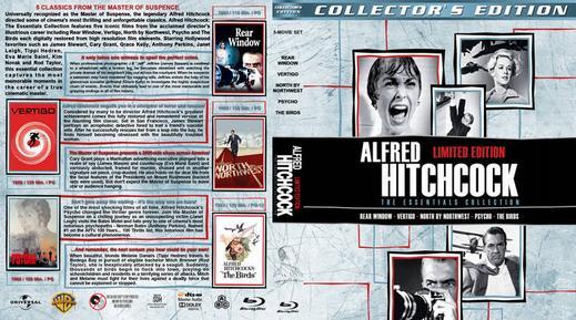 Coleção – Alfred Hitchcock: A Obra-prima Torrent - BluRay 720p Dual Áudio (1942-1976)