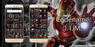 Tema Xiaomi Iron Man Invisible Format MTZ