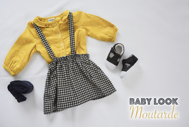 Baby Look - Moutarde