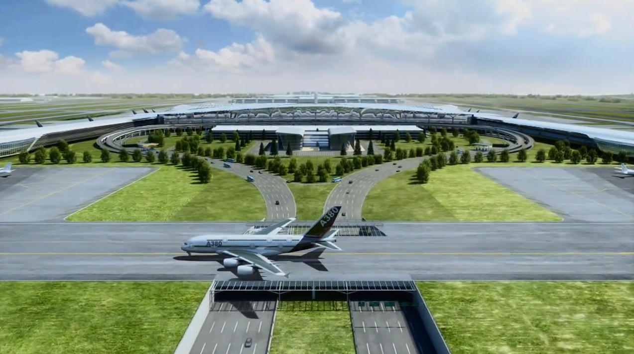 about Airport Planning: Incheon Airport New Terminal 2