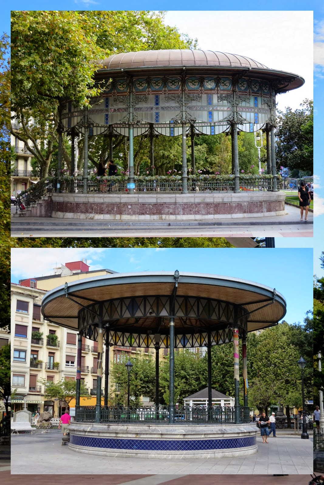 What to see in San Sebastián in a day: gorgeous gazebos