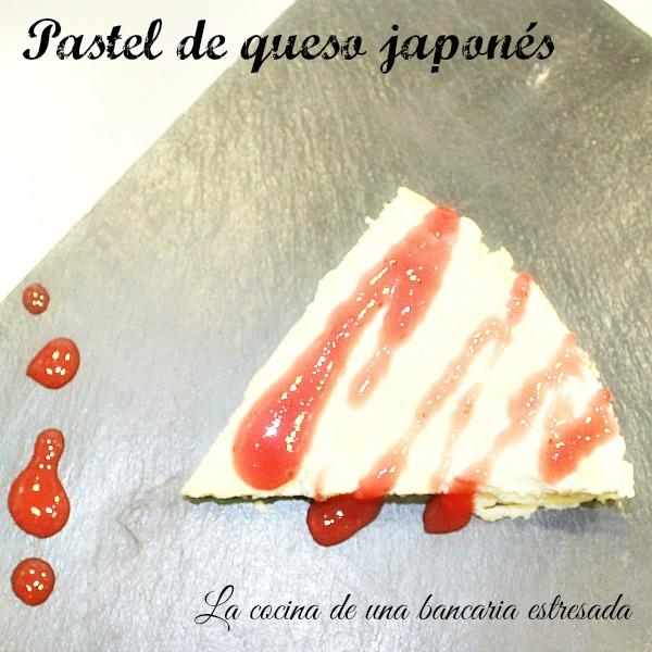 Receta de pastel de queso japonés