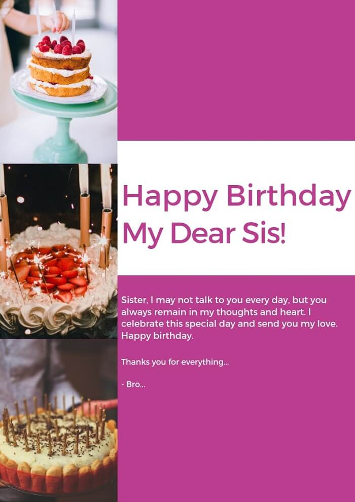 Astonishing 400 Perfect Happy Birthday Sister Status Wishes Images For Your Funny Birthday Cards Online Alyptdamsfinfo