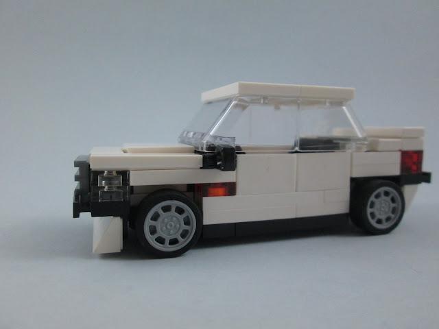 MOC LEGO Mercedes-Benz E190