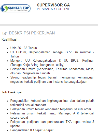 Lowongan kerja Kota Sampang Terbaru 2019.