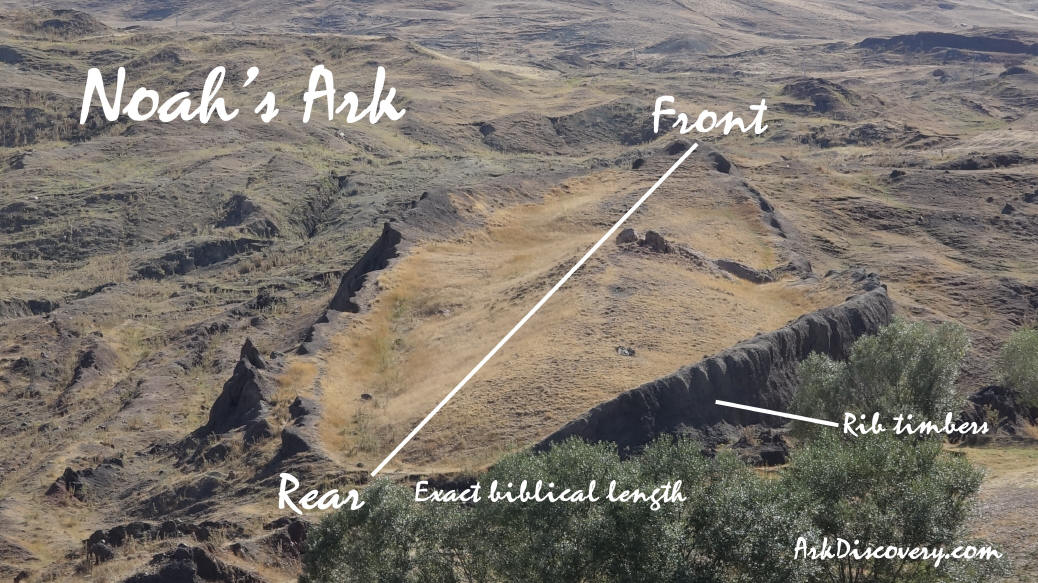 More photos of Noahs ark discoverd on mount Ararat ...